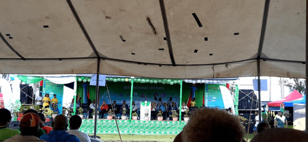 Day 1 of Vanuatu's National ICT Days Event 2021
