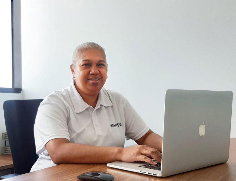 Michelle Abbock - WanTok Vanuatu HR, Admin & Finance Manager