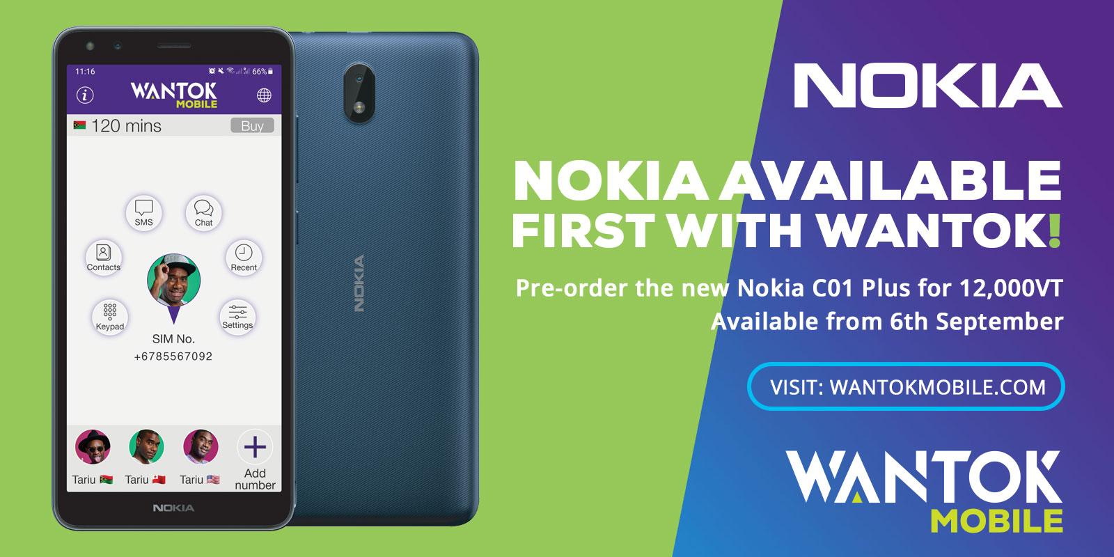 Nokia Mobile Banner WanTok Mobile
