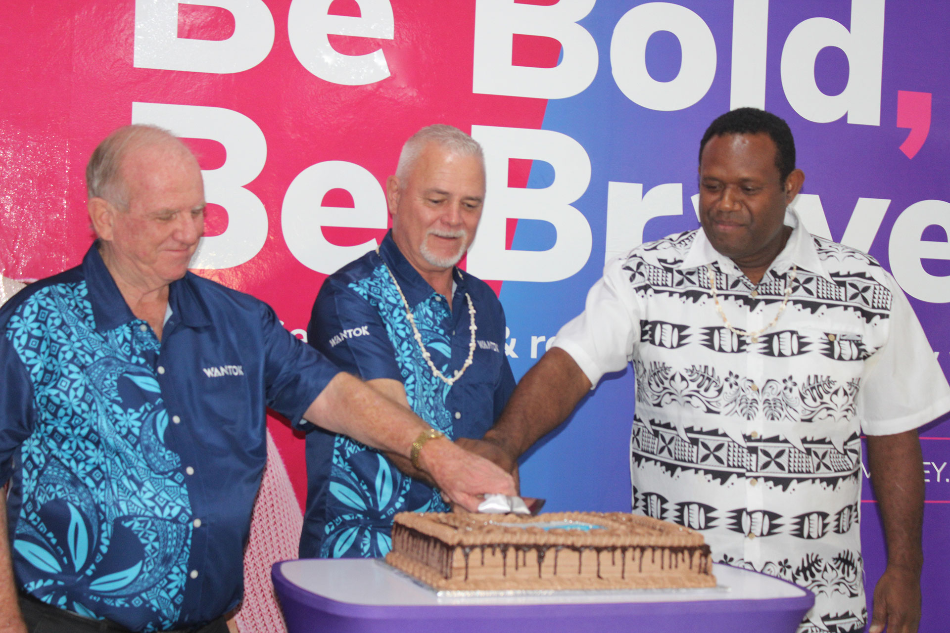 WanTok Vanuatu Launch Event