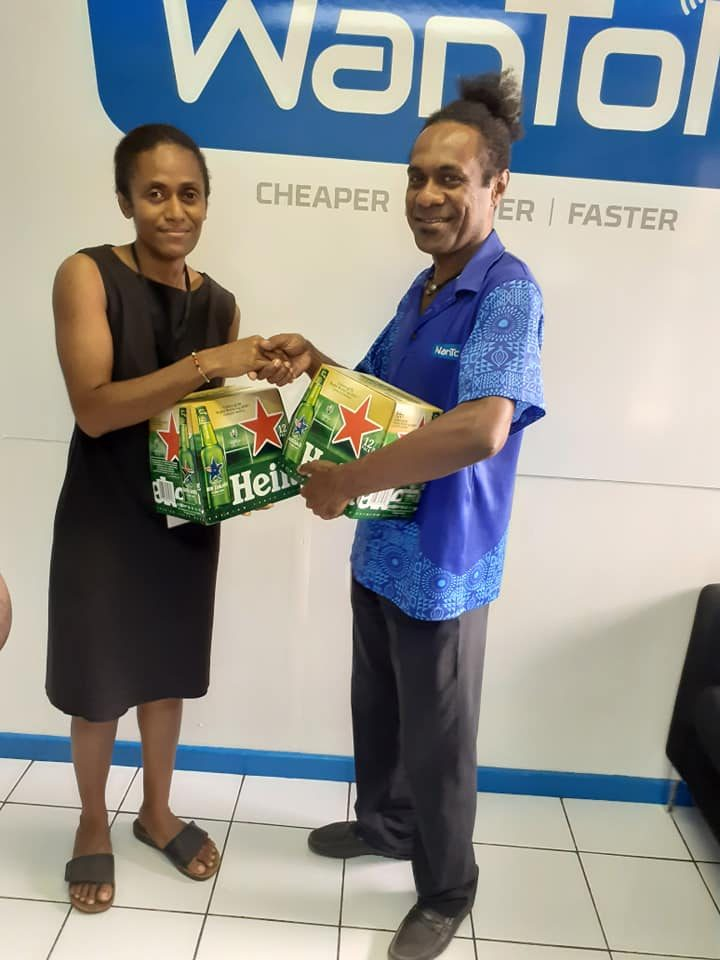 2nd Prize Winner for PTH promotion in February
